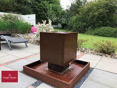 Cortenstahl Gartenbrunnen-Referenzen Diy Garden Fountains, Designer, Outdoor Decor, Gardening, Home Decor, Fantasy, Fountain Garden, Home And Garden, Wall Fountains