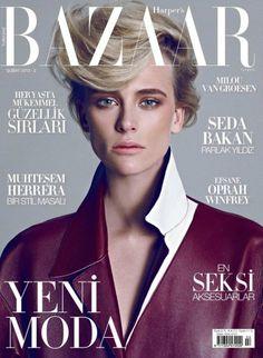 Harper's Bazaar Turkey, February 2013.