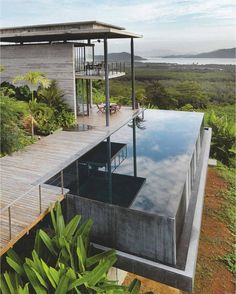 This suspended pool is one we are seriously coveting. We can't imagine anything more comforting than admiring these spectacular views while contemplating a good life. #weylandts #weylandtshome #goodliving #inspiration #architecture