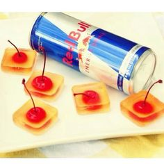 Vodka Red Bull Jello Shots 1 Cup Vodka 1 Cup Red Bull 1/2 Packet ...