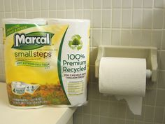 The Ecology Center uses #sustainable Marcal paper products, made from recycled materials. Simple and easy way to #green your #home too!