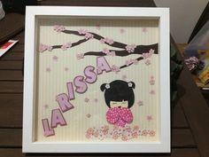 Enfeite para porta de maternidade (Larissa) #enfeitematernidade #babygirl #sakurababy