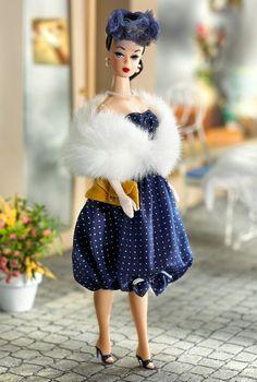 1959 Gay Parisienne barbie. Love the bubble skirt.