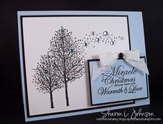 stamped cards ideas   card, I can see this stamp easily creating cards for autumn, or cards ...