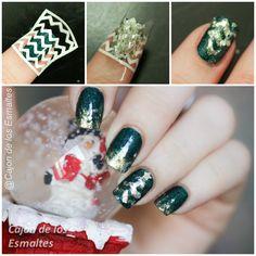 Tutorial christmas nails