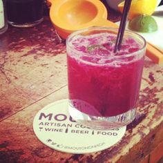 5 Columbus Summer Cocktails You Need to Try  Beet Caipirinha at MOUTON