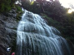 Bridal Falls just outside of Chilliwack along Hwy#1