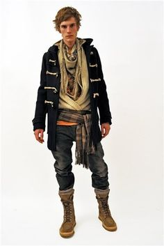 Ah, yes, the modern pirate look. Can't go wrong with that. I mean, it makes you look kind of homeless, but pirates essentially were homeless, so I guess it works.