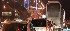 #haber #haberler #fsm #kaza #istanbul  Fatih Sultan Mehmet Köprüsü'nde zincirleme kaza!