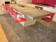 Concrete Countertop Ideas and Examples – Part 2 of 2 Pictures