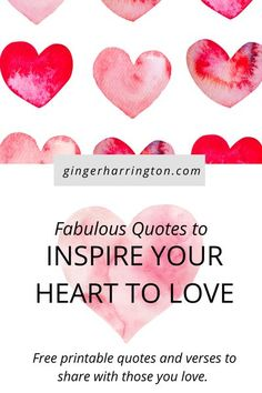 Quotes and graphics to inspire your heart to love well and love much. Biblical Inspiration, Christian Inspiration, Free Printable Quotes, Bible Verses About Love, Fabulous Quotes, Christian Encouragement, Love Is Free, Loving Someone, Inspire Others