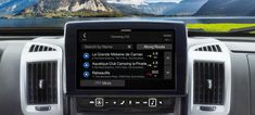 Alpine Mobile Home Specific Headunits Mobile Home, Caravan, Peugeot, Camper, Vans, Travel Trailers, Van, Mobile Homes, Motorhome