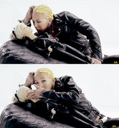 """G-Dragon (지드래곤) of Big Bang (빅뱅) in the M/V """"One of a Kind""""."""