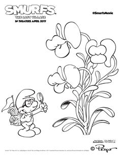3104 best party planning images ideas party birthday cakes White and Gold Birthday Cakes free printable smurfs coloring pages and activity sheets join in on the fun as the smurfs lost village opens in theatres on april