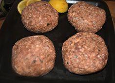 Cookbook Recipes, Meat Recipes, Cooking Recipes, Salisbury Steak, Greek Recipes, Greek Meals, Food Humor, Healthy Snacks, Easy Meals