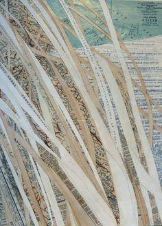 """Saatchi Art Artist Sarah Bishop; Collage, """"Dagger Yucca 2"""" #art"""