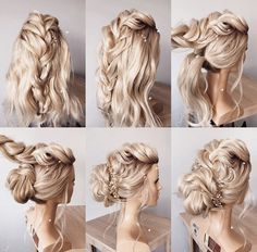 Blonde Bride, Bridal Hair, Daenerys Targaryen, Bridal Hairstyles, Bride Hairstyles, Hairstyle Wedding, Hair Style Bride
