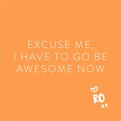 QUOTE // Monday morning awesomeness