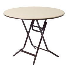 """MityLite ABS Plastic 30"""" Round Xpediter Folding Table"""