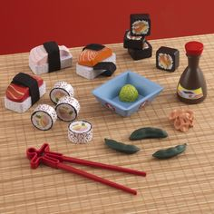 The KidKraft Toy Sushi Dinner Set is the perfect addition to any child's playtime fun. With this adorable new play set, kids can sit down and pretend they're having a fancy sushi meal whenever they like.