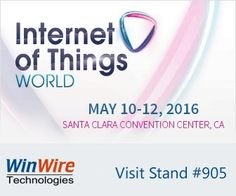 WinWire Technologies ‏@WinWire:  Attending #IoTworld16 May 10-12? Visit us at stand #905 harness the real value of #IoT. #iotworldnews, #AzureIoT