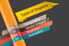 Types of Graphics to Create Awesome Website Design