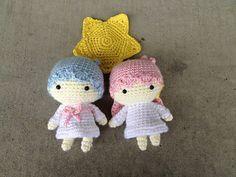 Amigurumi Dolls Free Patterns : Little twin stars kiki lala dolls free patterns ᛡ amigurumi