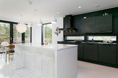 Sisustus - Keittiö - Moderni Interior And Exterior, Interior Design, Decorating Ideas, Kitchen, House, Home Decor, Houses, Nest Design, Cooking