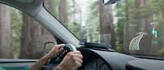 Something for modern car rental providers to aim for: heads-up display navigation