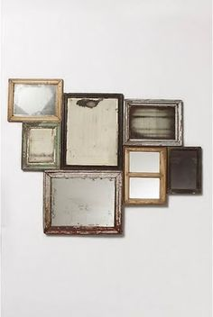 Now I know what to do with all my old frames and mirrors...