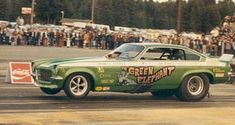 Drag car enthusiasts - old timers only! - Page 3 - Pelican Parts Technical BBS Funny Car Drag Racing, Nhra Drag Racing, Funny Cars, Vintage Racing, Vintage Cars, Car Lettering, Drag Cars, Performance Cars, Vintage Humor