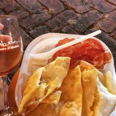 Gnocco fritto. Modena, Italy
