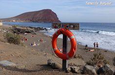 Tenerife, El Medano, Tejita, Chiringuito Pirata, Montaña Roja
