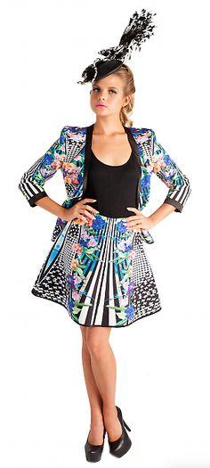 Flared Falling Flowers Skirt | Mackenzie mode Flower Skirt, Fall Flowers, Skirts, Dresses, Vestidos, Autumn Flowers, Gowns, Dress, Skirt