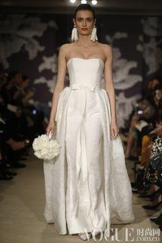Carolina Herrera 2015 Spring Wedding Dress