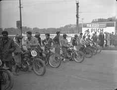 Motorradbahnrennen auf der Trabrennbahn Wien-Krieau 1934
