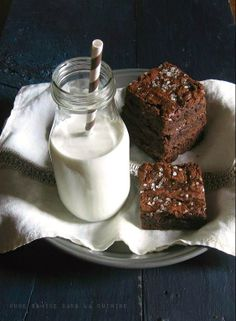 Sweet & Salty Brownies