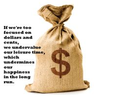 Is thinking about money ruining your happiness?