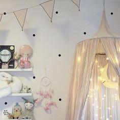 Baby E, Childrens Beds, Dream Baby, Big Girl Rooms, Kidsroom, Kids Decor, Fairy Lights, Room Interior, Kids Bedroom