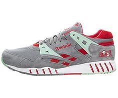 d1ebe567cc3c Reebok Sole Trainer Foggy Grey Mint GlowRed RushWhite 95 D US   Details can  be found