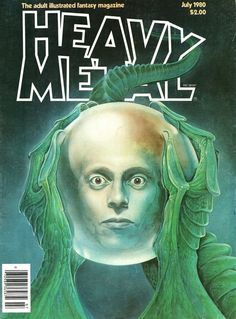 Heavy Metal Magazine covers #2