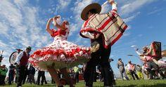 * Celebrating Chile's National Day