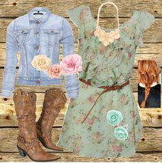 """country girl"" by madisonriverphotos on Polyvore"