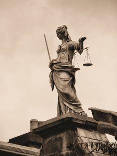 Lady Justice in Ireland