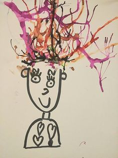 Nos cheveux semblent fins et tous identiques et pourtant chacun est unique. Une chevelure brune compte environ 100000 à 110000 cheveux en moyenne. Une chevelure claire, tendant vers le blond, compte... Diy And Crafts, Crafts For Kids, Projects To Try, Activities, Portraits, Chloe, Unique, Summer, Classroom