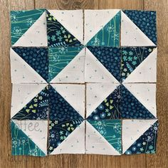 If you follow me over on Instagram you'll know that I'm a huge fan of half-square triangles (HSTs for short) and have recently been looking at all the different layouts you can create. … Half Square Triangle Quilts Pattern, Quilt Square Patterns, Half Square Triangles, Square Quilt, Pattern Blocks, Star Quilt Blocks, Star Quilts, Scrappy Quilts, Block Quilt