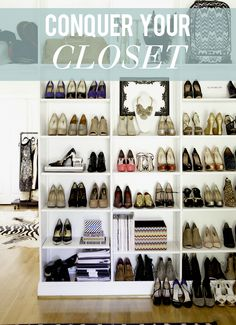 Conquer your Closet.  I definitely need to read this.