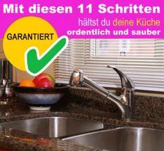Mit diesen 11 Schritten hältst du deine Küche ordentlich und sauber