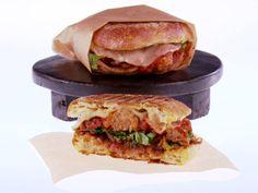 Meatball Panini recipe from Giada De Laurentiis via Food Network