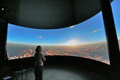 MotoBlend Closeup - multi projector blended image